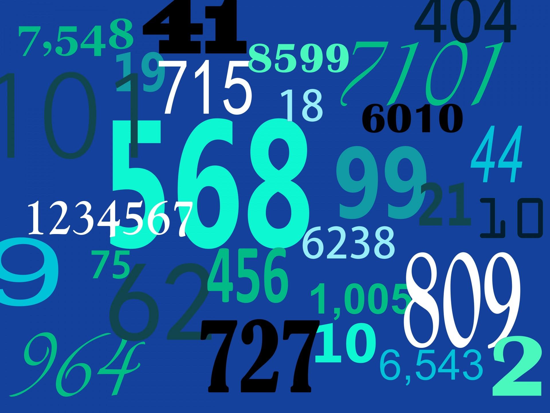 I numeri dell'IVA